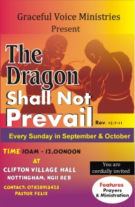 The dragon shall not prevail.1