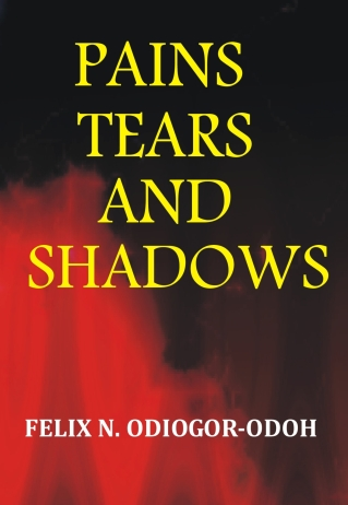 book cover - pain tears and shadows